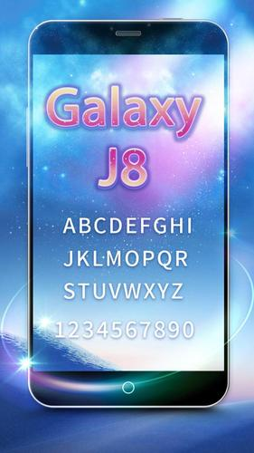 Galaxy J8 Font for FlipFont , Cool Fonts Text for Android