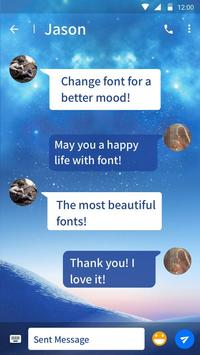 Galaxy J8 Font for FlipFont , Cool Fonts Text screenshot 1