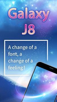 Galaxy J8 Font for FlipFont , Cool Fonts Text screenshot 2