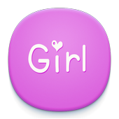 Girl Font icon