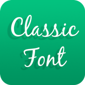 Classic Font for OPPO - Handwritten Style Font icon