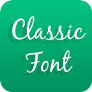 Classic Font for OPPO - Handwritten Style Font APK