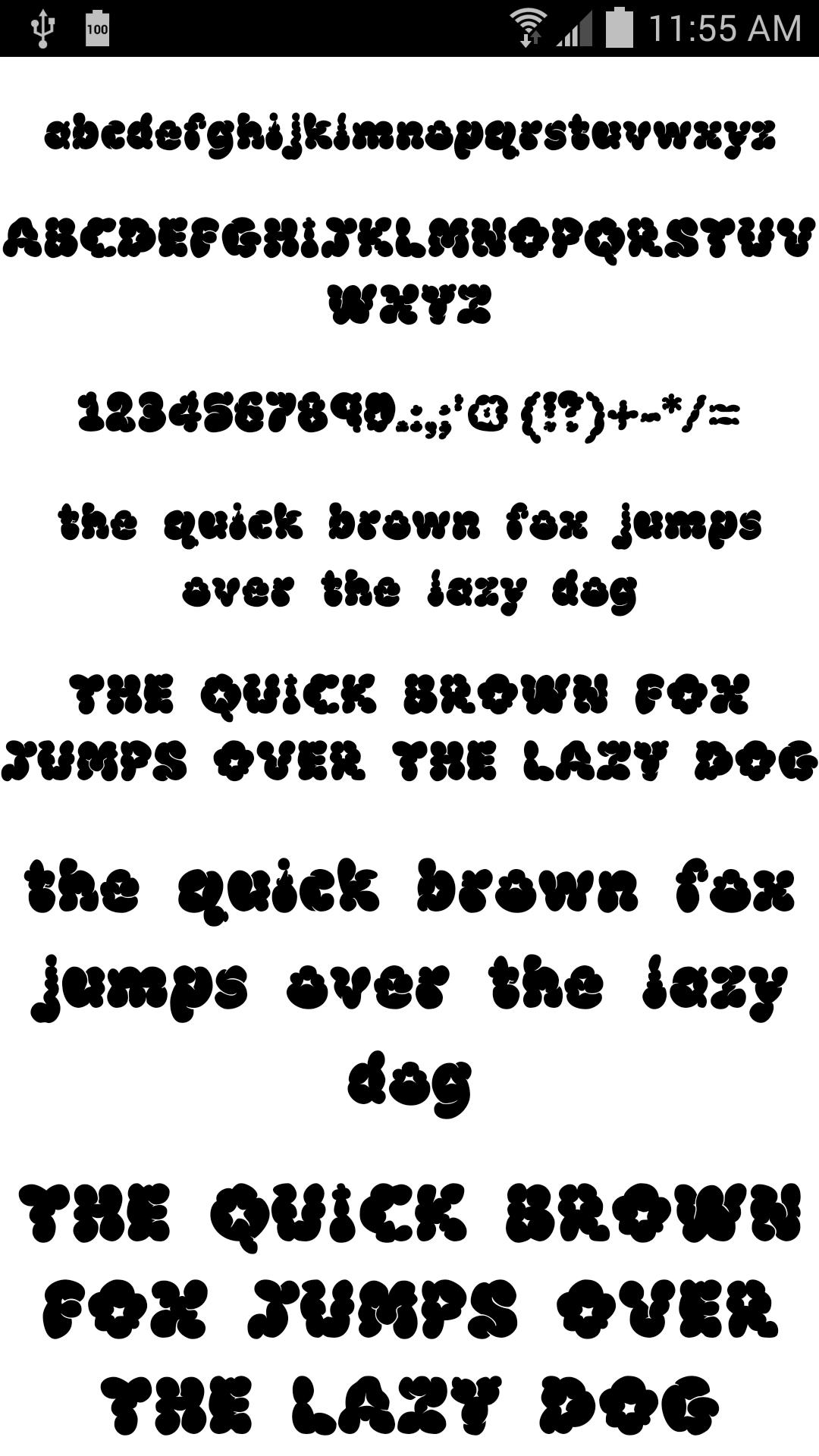 Download Fonts for FlipFont 50 #8 for Android - APK Download
