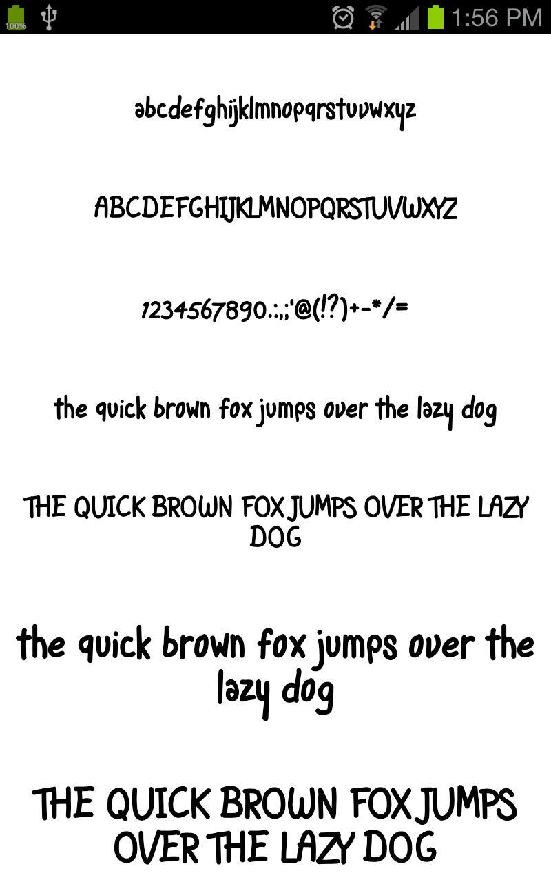 Download Fonts for Galaxy FlipFont Free for Android - APK Download