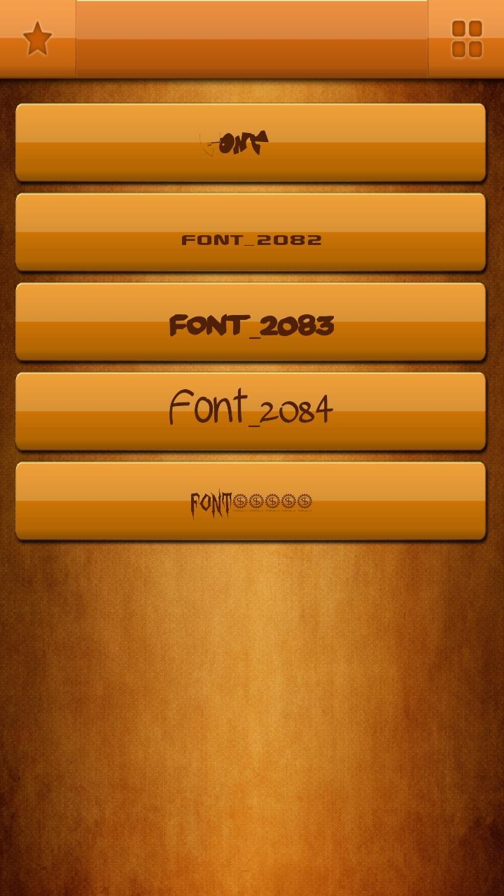 Download Free Fonts for Samsung for Android - APK Download