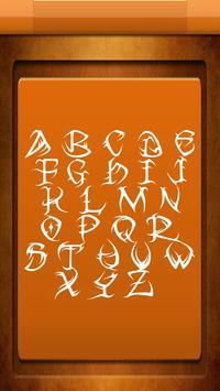 Free Tattoo Fonts screenshot 3