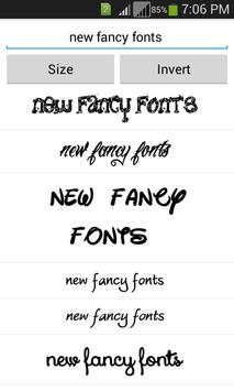 Free Fancy Fonts screenshot 3