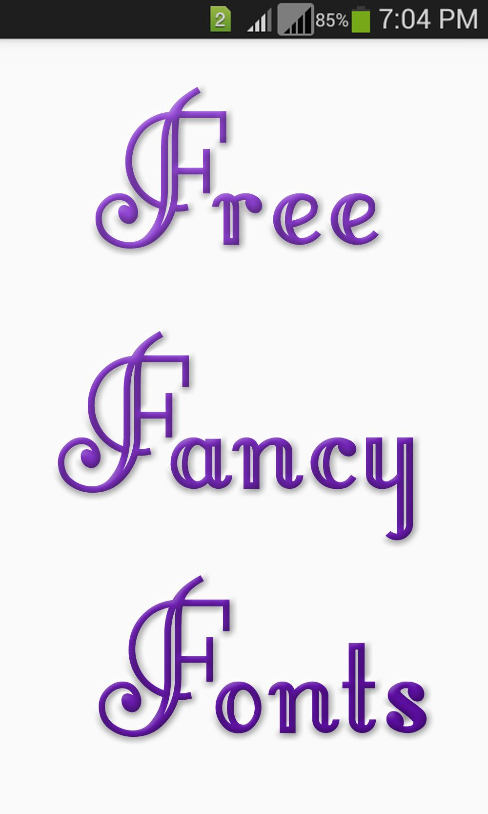 Free Fancy Fonts for Android - APK Download
