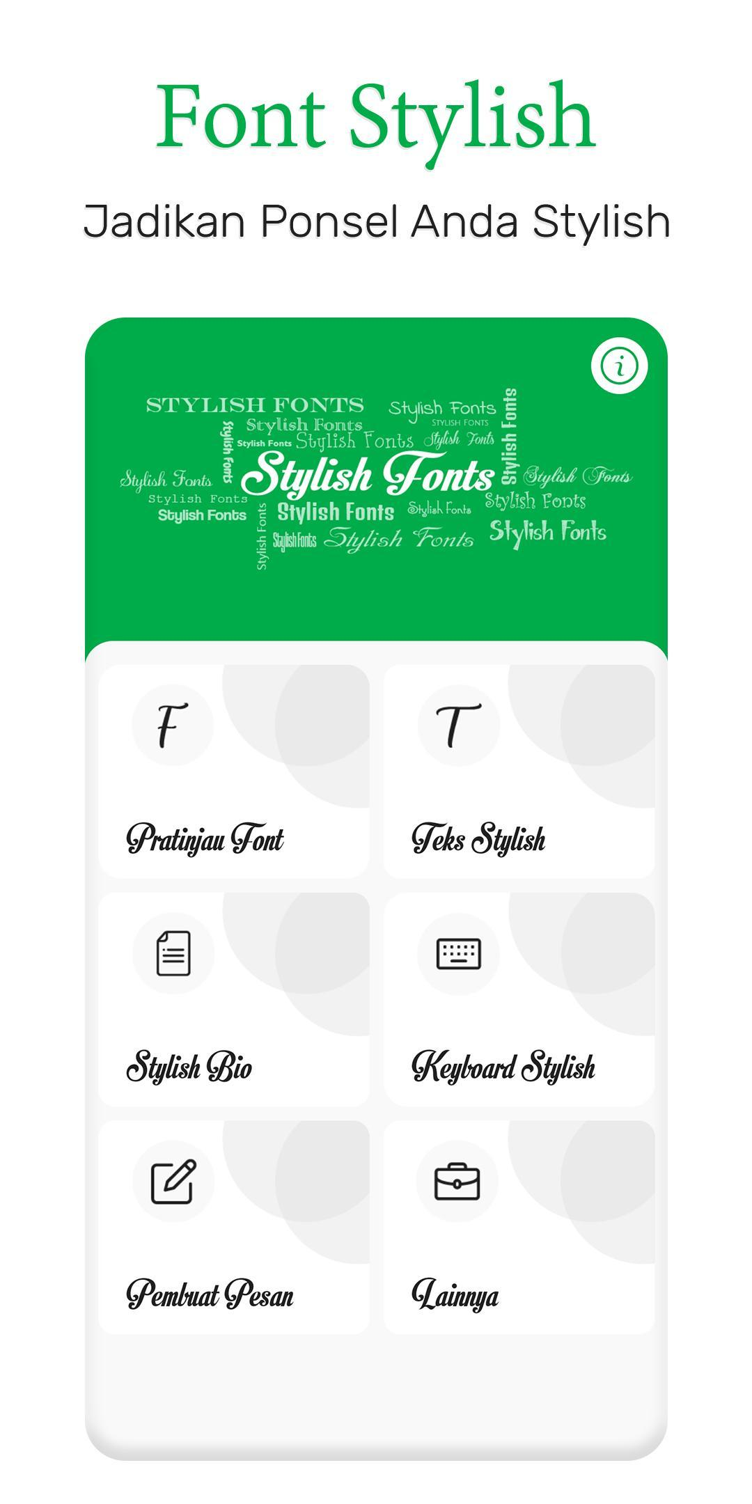 Font Stylish For Android Apk Download