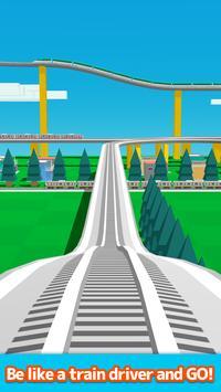 Train Go- محاكي السكة الحديد تصوير الشاشة 8
