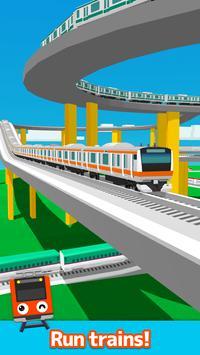 Train Go- محاكي السكة الحديد تصوير الشاشة 10