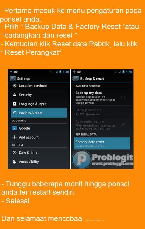 Cara Instal Ulang Android Semua Merk for Android - APK Download