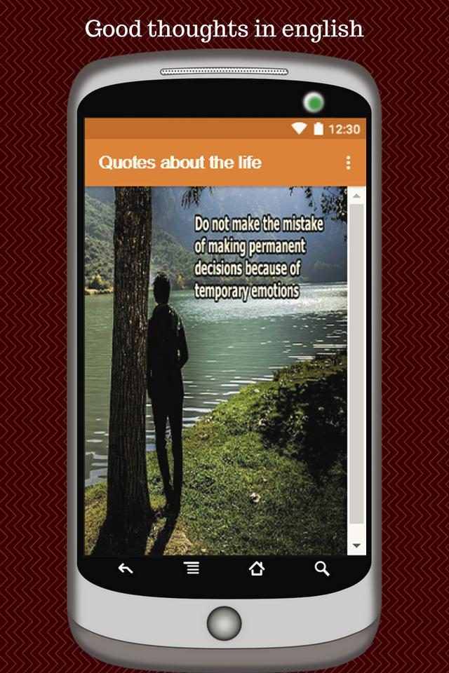 Good Thoughts In English Quotes About The Life For Android Apk Download