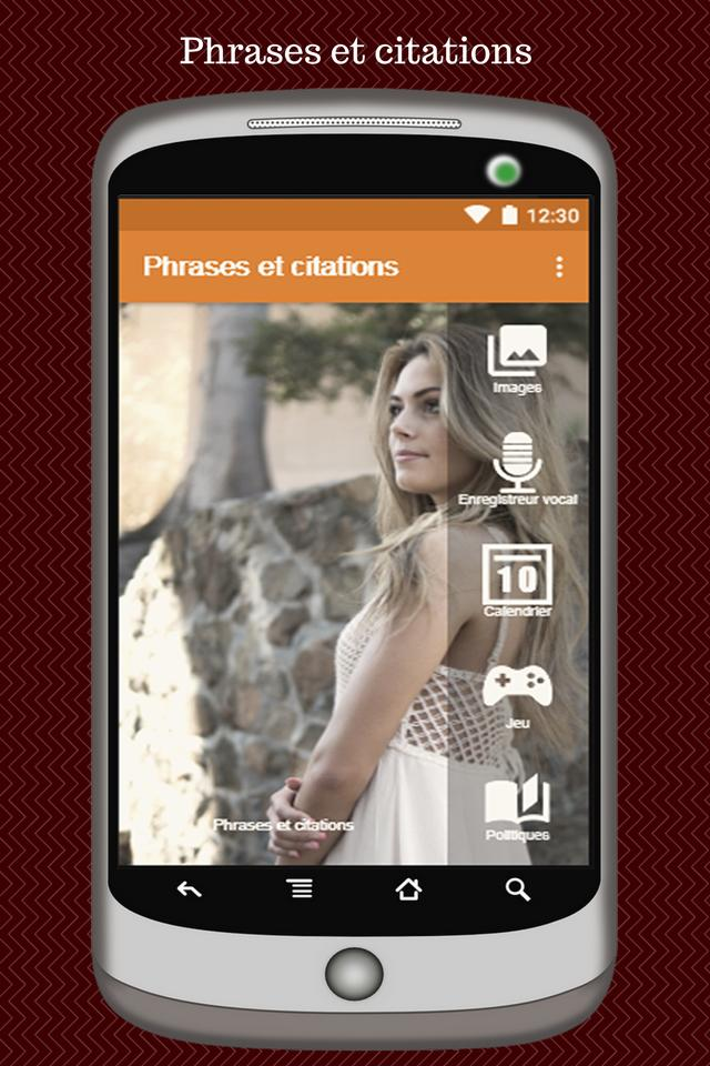 Phrases Et Citations Sur La Vie En Image Francais For Android