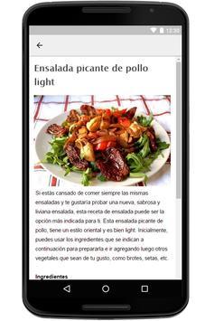 Recetas de Ensaladas screenshot 5