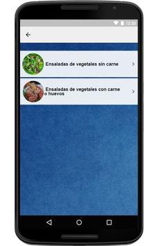 Recetas de Ensaladas screenshot 6
