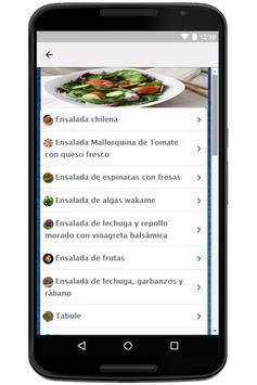 Recetas de Ensaladas screenshot 1