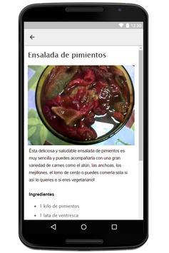 Recetas de Ensaladas screenshot 2