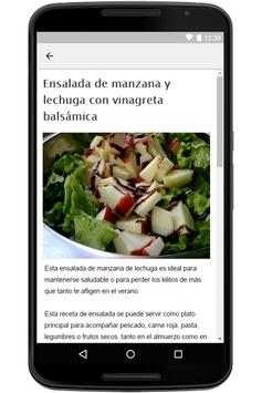 Recetas de Ensaladas screenshot 3