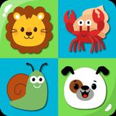 MemoKids: toddler games free. adhd games. Memotest ikon