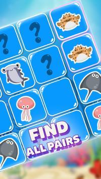 MemoKids: toddler games free. adhd games. Memotest syot layar 9
