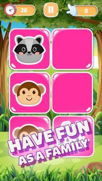 MemoKids: toddler games free. adhd games. Memotest syot layar 20