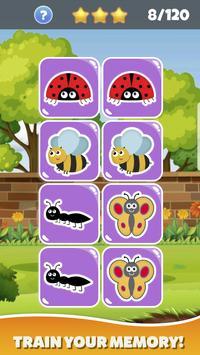 Memokids: toddler memory games free ảnh chụp màn hình 3