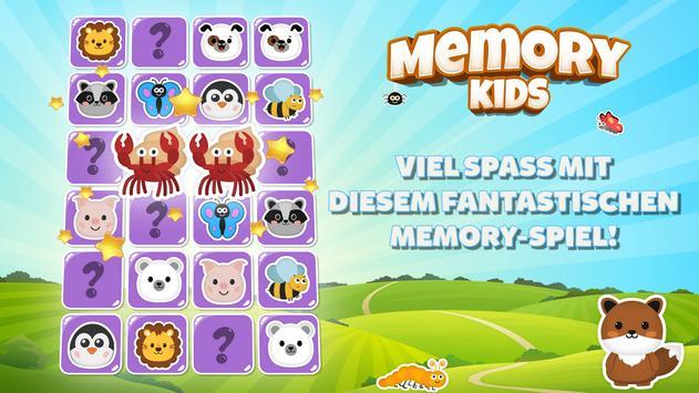 Memokids: gedächtnisspiele für kínder. Tiere spiel Screenshot 8