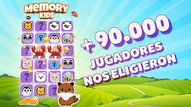 MemoKids gratis - Juego de memoria. Memory games Poster