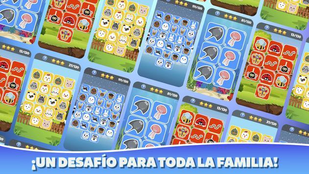 Memokids: Juego de memoria con animales captura de pantalla 2