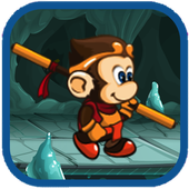 Monk Jungle Adventure icon