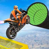 Bike Impossible Tracks Race: 3D Motorcycle Stunts icon