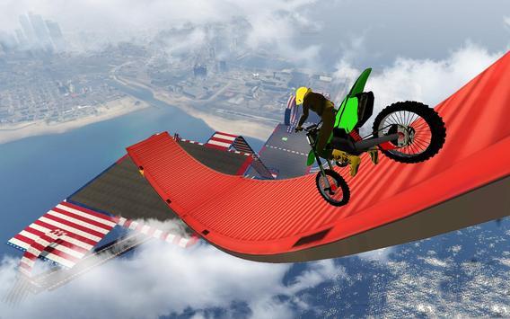 велосипед невозможно треков раса:3D мотоцикл трюки скриншот 3