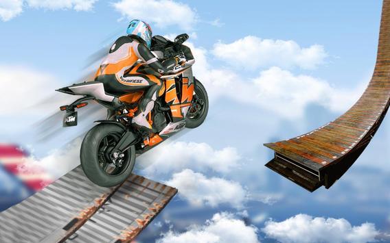 велосипед невозможно треков раса:3D мотоцикл трюки постер