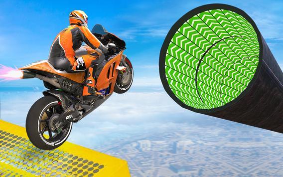 Bike Impossible Tracks Race: 3D Motorcycle Stunts screenshot 12