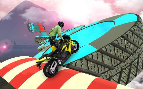 велосипед невозможно треков раса:3D мотоцикл трюки скриншот 13