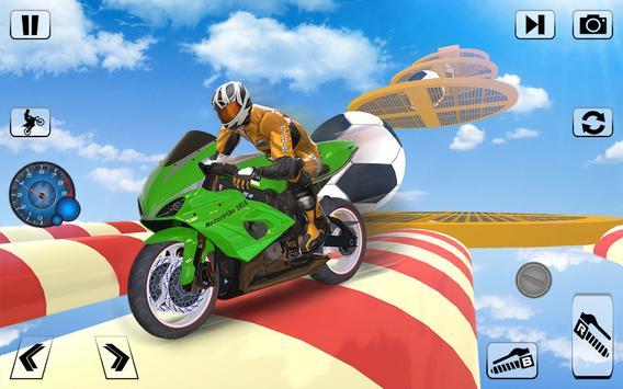 Bike Impossible Tracks Race: 3D Motorcycle Stunts screenshot 13