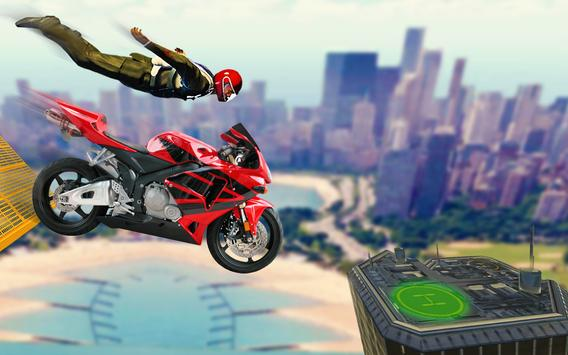 Bike Impossible Tracks Race: 3D Motorcycle Stunts screenshot 17