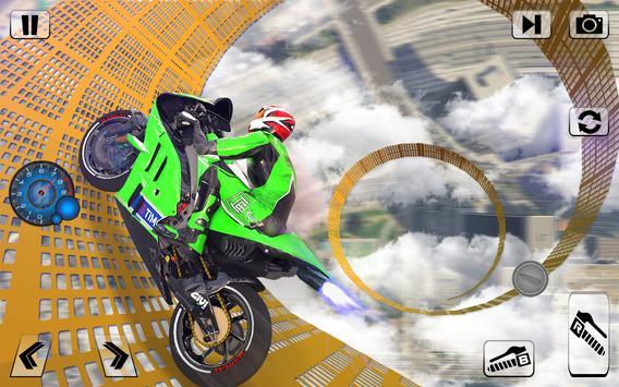 Bike Impossible Tracks Race: 3D Motorcycle Stunts screenshot 2