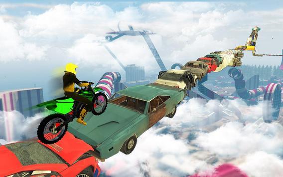 велосипед невозможно треков раса:3D мотоцикл трюки скриншот 4