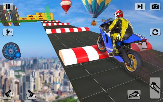 Bike Impossible Tracks Race: 3D Motorcycle Stunts screenshot 4