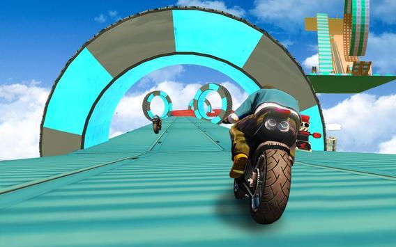 велосипед невозможно треков раса:3D мотоцикл трюки скриншот 6