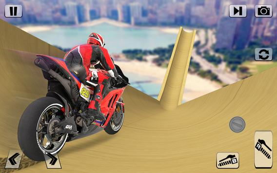 Bike Impossible Tracks Race: 3D Motorcycle Stunts screenshot 9
