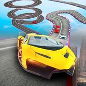 Impossible Crazy Car Track Racing Simulator icon