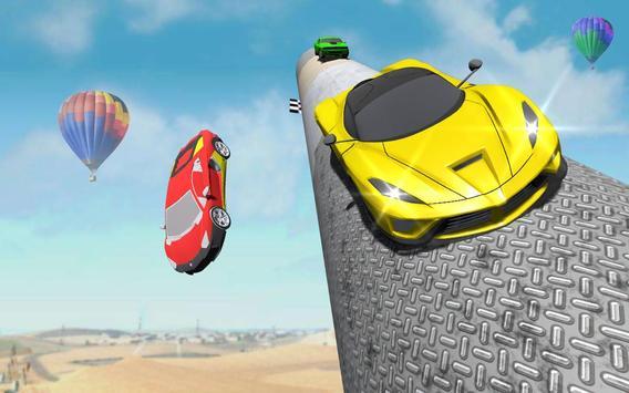 Impossible Crazy Car Track Racing Simulator screenshot 3