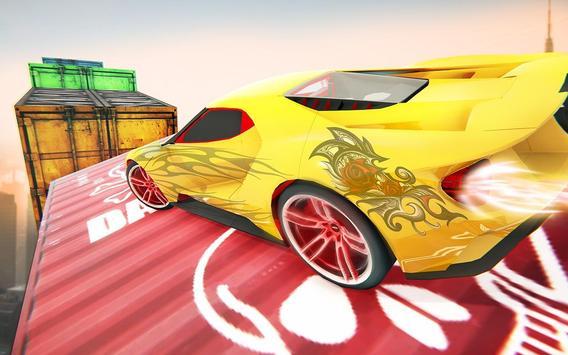 Impossible Crazy Car Track Racing Simulator screenshot 1