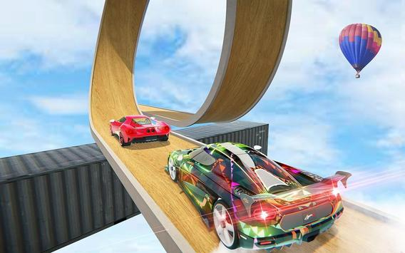 Impossible Crazy Car Track Racing Simulator screenshot 2