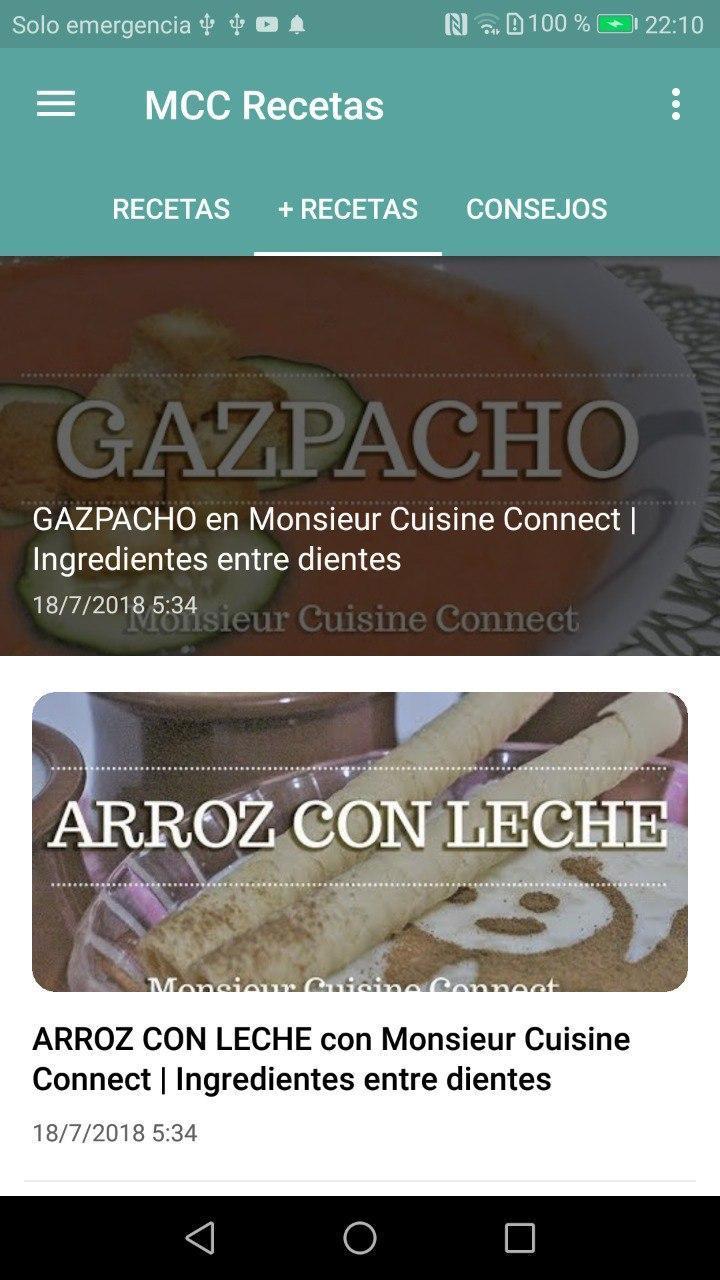 Monsieur Cuisine Recetas For Android Apk Download