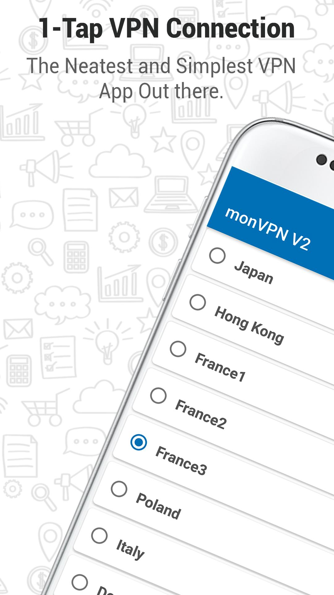 monVPN – Simple High Speed Fastest VPN App for Android - APK