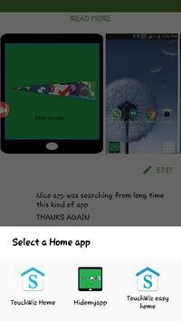 Hide Apps plakat